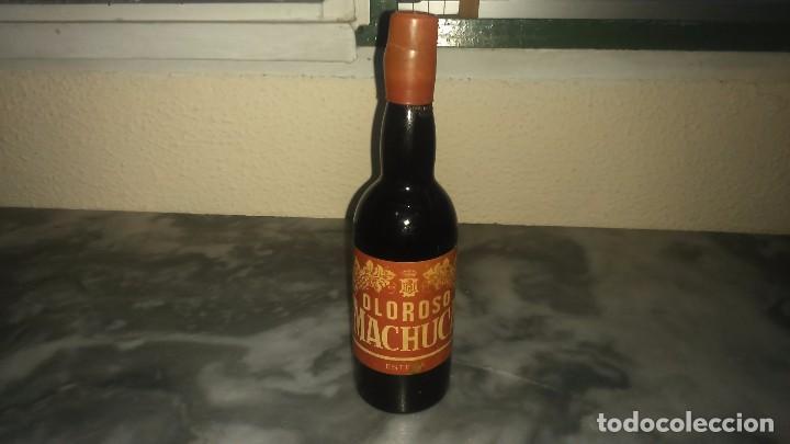 ANTIGUA BOTELLA MINIATURA DE OLOROSO MACHUCA ESTEPA SIN ABRIR (Coleccionismo - Botellas y Bebidas - Vinos, Licores y Aguardientes)