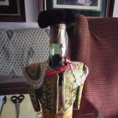 Coleccionismo de vinos y licores: BOTELLA BRANDY CARLOS I AÑOS 50. Lote 81703976
