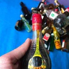 Coleccionismo de vinos y licores: LICOR ESTOMACAL DOMENECH BOTELLIN SIN ABRIR . Lote 82787684