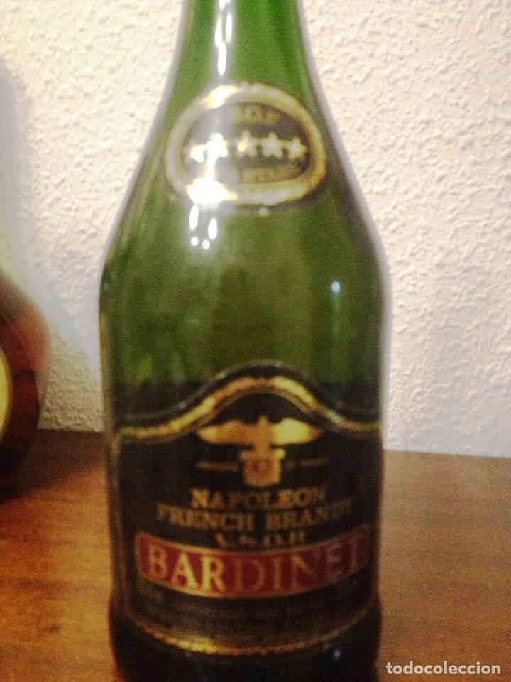 BRANDY NAPOLEON VSOP- BARDINET- ( FRANCE) CON SELLO Y ETIQUETAS SIN ABRIR. (Coleccionismo - Botellas y Bebidas - Vinos, Licores y Aguardientes)
