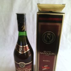 Coleccionismo de vinos y licores: BOTELLA BRANDY NAPOLEON RESERVA.70CL.SOREL DESTILERIAS.. Lote 83473776