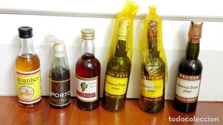 6 BOTELLINES DE LICOR (Coleccionismo - Botellas y Bebidas - Vinos, Licores y Aguardientes)