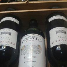 Coleccionismo de vinos y licores: BOTELLAS DE VINO POZUELO AÑOS 94 Y 98. Lote 83837246