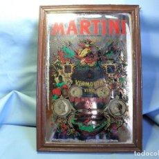 Coleccionismo de vinos y licores: ESPEJO CUADRO DE MARTINI. Lote 83949536