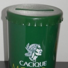 Coleccionismo de vinos y licores: HUCHA CACIQUE. Lote 270634948
