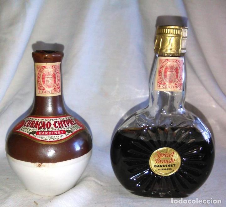Coleccionismo de vinos y licores: Pack de 15 botellines Destilerías Bardinet Bordeaux. Lote botellin, botellita, botellitas. A3800. - Foto 2 - 85106156