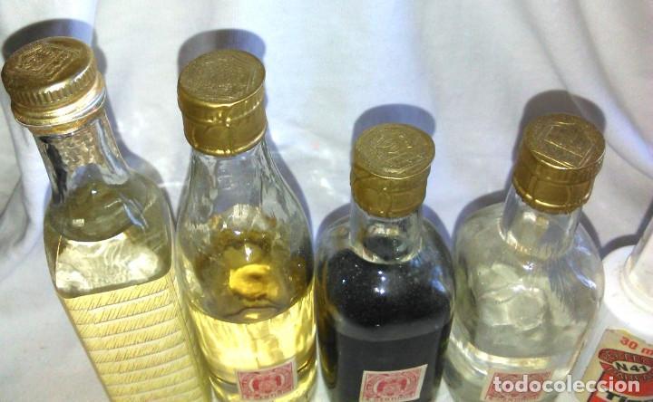 Coleccionismo de vinos y licores: Pack de 15 botellines Destilerías Bardinet Bordeaux. Lote botellin, botellita, botellitas. A3800. - Foto 9 - 85106156
