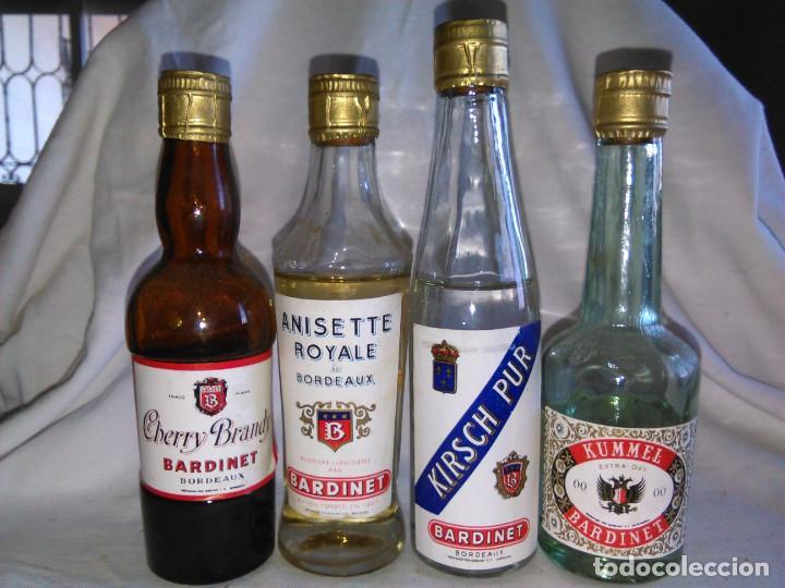 Coleccionismo de vinos y licores: Pack de 15 botellines Destilerías Bardinet Bordeaux. Lote botellin, botellita, botellitas. A3800. - Foto 10 - 85106156