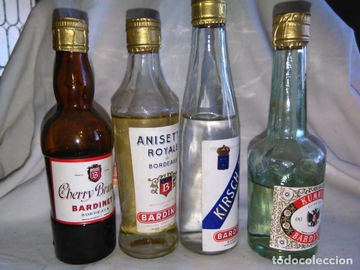 Coleccionismo de vinos y licores: Pack de 15 botellines Destilerías Bardinet Bordeaux. Lote botellin, botellita, botellitas. A3800. - Foto 11 - 85106156