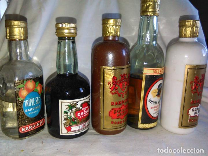 Coleccionismo de vinos y licores: Pack de 15 botellines Destilerías Bardinet Bordeaux. Lote botellin, botellita, botellitas. A3800. - Foto 16 - 85106156