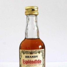 Coleccionismo de vinos y licores: BOTELLÍN BRANDY ESPLÉNDIDO. BODEGAS GARVEY, JEREZ. Lote 85205280