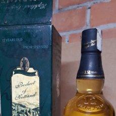 Coleccionismo de vinos y licores: SINGLE MALT SCOTCH WHISKY 12 YEARS. Lote 85255559
