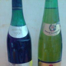 Coleccionismo de vinos y licores: CONDE DE CARALT RESERVA 1961,Y RENE BARBIER KRALINER.VINOS SAN SADURNI DE NOYA. Lote 85620531