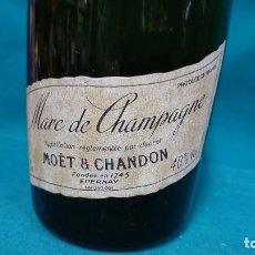 Coleccionismo de vinos y licores: BOTELLA MOET & CHANDON, MARC DE CHAMPAGNE. Lote 88784236