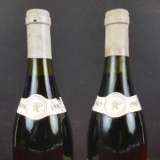 Coleccionismo de vinos y licores: 2 BOTELLAS DE VINO. GEVREY CHAMBERTIN. MAURICE CHENI. BORGOGNE. FRANCIA 1987. . Lote 89572444