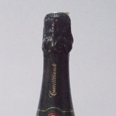 Coleccionismo de vinos y licores: BOTELLA DE BRUT. GRAND CREMANT. CAVA. CASTELLBLANCH. SANT SADURNI D´ANOIA. 32 CM DE ALTO.. Lote 89587628