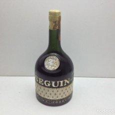 Coleccionismo de vinos y licores: BOTELLA BRANDY BRANDY SEGUIN FRANCIA. Lote 89671692