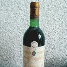Coleccionismo de vinos y licores: BOTELLA MARQUÉS DE MURRIETA YGAY ETIQUETA BLANCA COSECHA 1975 - LOGROÑO RIOJA VINO. Lote 92873887