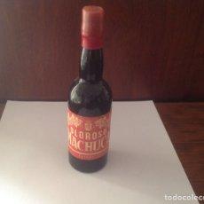 Coleccionismo de vinos y licores: BOTELLÍN ANTIGUO OLOROSO MACHUCA. Lote 98883575