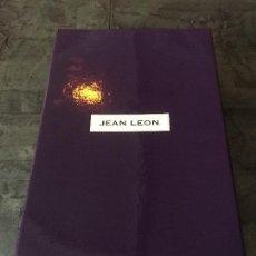 Coleccionismo de vinos y licores: ESTUCHE 2BOT. JEAN LEON CABERNET SAUVIGNON GRAN RESERVA DE 1991. VINO. EDICIÓN NUMERADA.. Lote 94297622