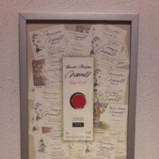 Coleccionismo de vinos y licores: BONITO CARTEL FERRET I MATEU, VINYA SANT GALDERIC. DENOMINACION DE ORIGEN PENEDES, STA. MARGARIDA.. Lote 94654803