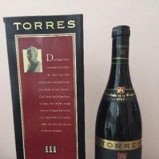 Coleccionismo de vinos y licores: TORRES GRAN CORONAS MAS LA PLANA 1985. GRAN RESERVA. VINO. PENEDÈS.. Lote 94933583
