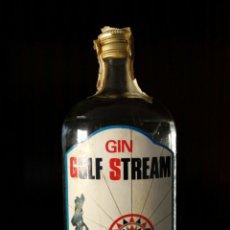 Coleccionismo de vinos y licores: GIN GULF STREAM MUY ANTIGUA SIN ABRIR CARTAGENA. Lote 95016039