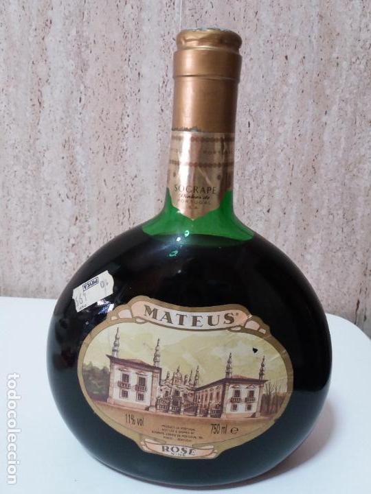 BOTELLA DE VINO ROSÉ MATEUS, 75 ML (Coleccionismos - Vinos, Licores y Aguardientes)