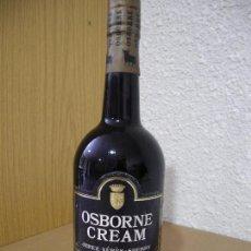 Coleccionismo de vinos y licores: OSBORNE CREAM JEREZ PRECINTADA. 29CM ALTURA. Lote 95800427