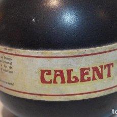 Coleccionismo de vinos y licores: CALENT, XORIGUER MAHON.. Lote 95826883