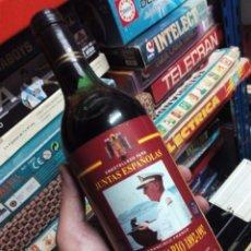 Coleccionismo de vinos y licores: BOTELLA VINO CON IMAGEN FRANCO. Lote 96765311