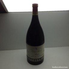 Coleccionismo de vinos y licores: BOTELLA -BOTELLON VINO PUBLICIDAD VIÑA REAL RIOJA GRAN RESERVA COSECHA 1991. Lote 96960887