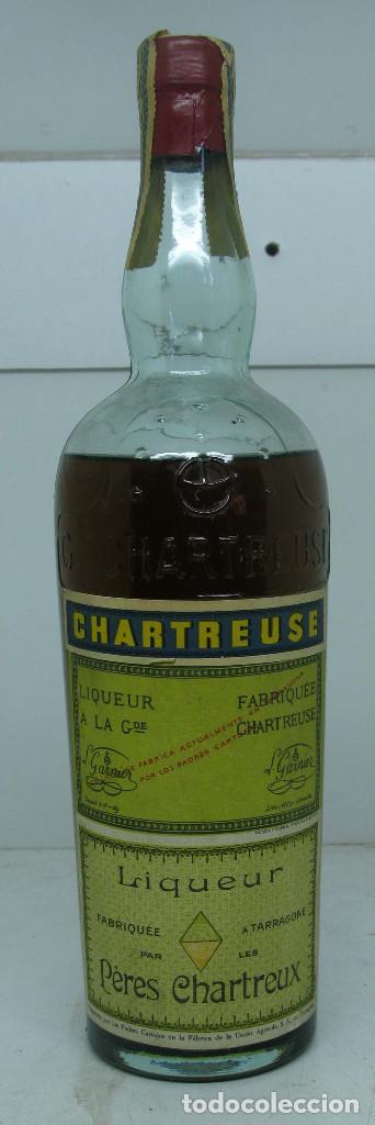 CHARTREUSE 31 CM PRECINTADA TARRAGONA (Coleccionismos - Vinos, Licores y Aguardientes)