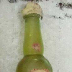 Coleccionismo de vinos y licores: BOTELLIN RON SERPIS. DESTILERIA GISBERT Y CIA. ALCOY RF-5122. Lote 97568439