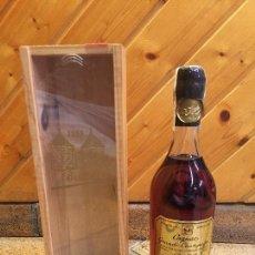 Coleccionismo de vinos y licores: BRILLET COGNAC GRANDE CHAMPAGNE - 70CL. - BOTELLA COLECCIÓN. Lote 98106331