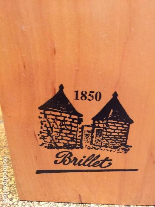 Coleccionismo de vinos y licores: Brillet Très Rare Cognac Réserve Limitée 1er Cru Single - 70cl. - Numerada K02/35 - Certificado - Foto 4 - 98107107