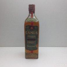 Coleccionismo de vinos y licores: RARA BOTELLA IMPERIAL BRANDY CAMUS OLD GUARD,S BRANDY AÑOS 40. Lote 98357327