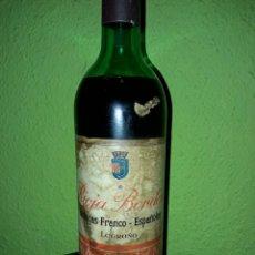 Coleccionismo de vinos y licores: BOTELLA RIOJA 1970. Lote 98945215