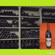 Coleccionismo de vinos y licores: BOTELLA ANTIGUA VERMOUTH CINZANO DI SELEZIONE Nº 12533 SE VENDE TAL COMO SE OBSERVA, SIN TOCAR.. Lote 98947803