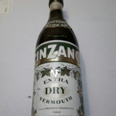 Coleccionismo de vinos y licores: BOTELLA DE CINZANO ANTIGUA Y RARA. Lote 99171488