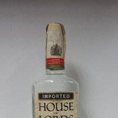 Coleccionismo de vinos y licores: BOTELLA GINEBRA DRY GIN HOUSE OF LORDS AÑOS 70-PRECINTADA. Lote 99771811
