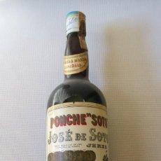 Coleccionismo de vinos y licores: PONCHE SOTO - JOSE SOTO , JEREZ. Lote 99863887