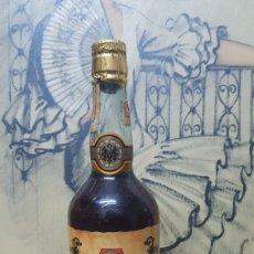 Coleccionismo de vinos y licores: BOTELLA DE BRANDY MIRO TAPON DE CORCHO MUY RARA SOLERA SUPERIOR. Lote 100431778