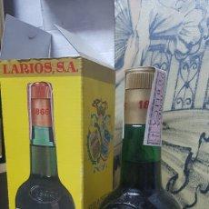 Coleccionismo de vinos y licores: BOTELLA DE BRANDY 1866 CON CAJA. Lote 100433879