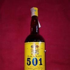 Coleccionismo de vinos y licores: BOTELLA BRANDY 501 GRANDE SIN ABRIR AÑOS 70. Lote 100959676