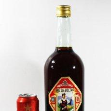 Coleccionismo de vinos y licores: MUY RARA BOTELLA DOBLE MAGNUM 3 LITROS APROX ANIS LA JACETANA BODEGAS LANGA JACA HU 37,50 CM ALTO. Lote 101082635