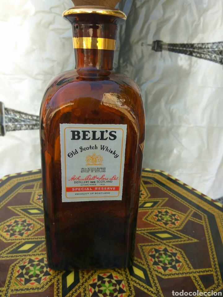 WHISKY BELLS- KING GEORGE IV BOTELLA (Coleccionismo - Botellas y Bebidas - Vinos, Licores y Aguardientes)