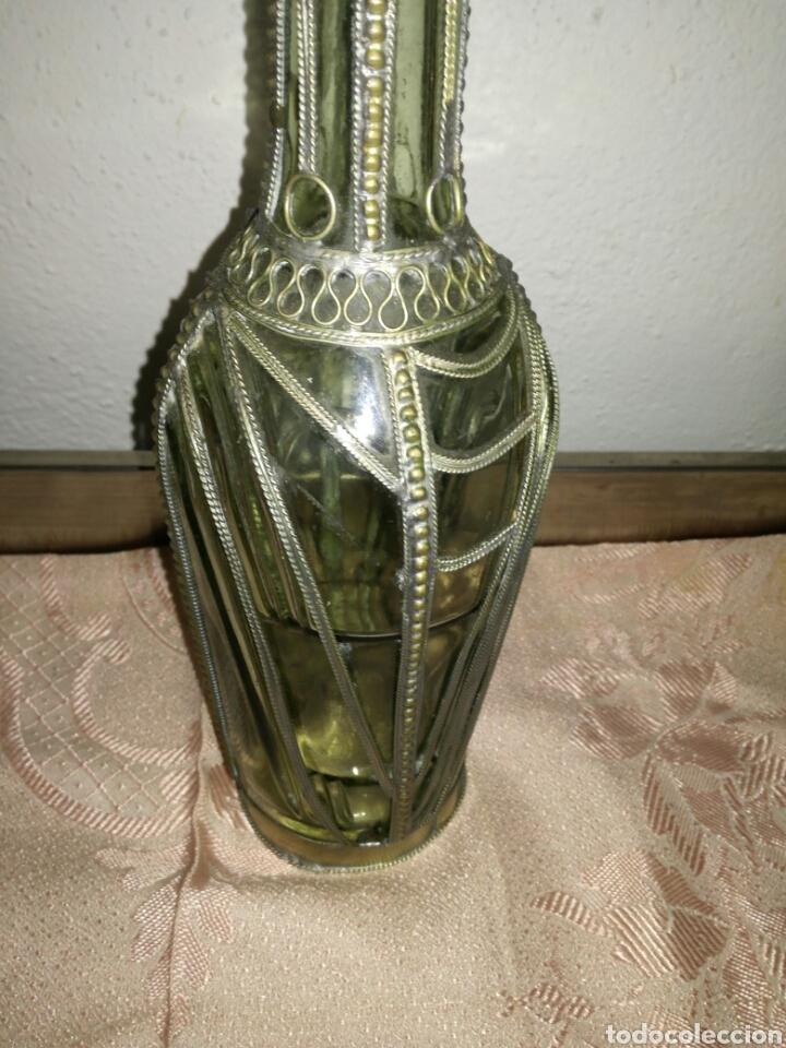 Coleccionismo de vinos y licores: Antigua y rara botella cognac Martell - Foto 3 - 218840517