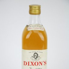 Botella de Whisky - Dixon's. Blended Whisky - Llena y Cerrada - S.A.C.B. Francia, 1977 - #JSW