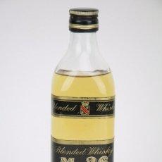 Botella de Whisky - M.26 Blended Whisky, 40º - Tapón Rosca / Llena - Francia, 1978 - #JSW